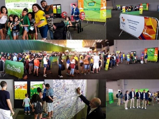 More than 5,000 visited powerlifting fan experience at Rio 2016, IPC announce