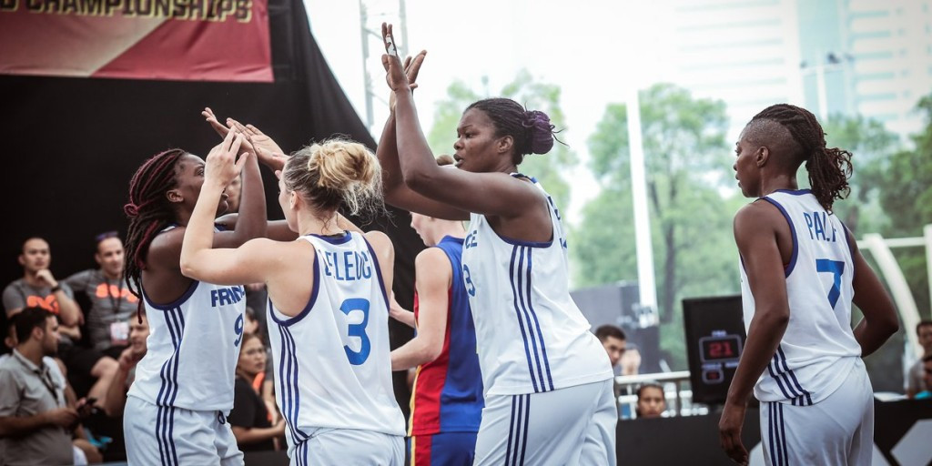 China and France begin FIBA 3x3 World Championship campaigns with winning double