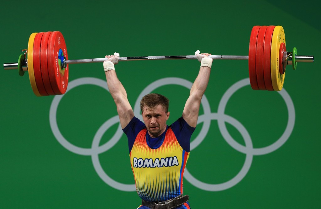Gabriel Sîncrăian is set to be stripped of the under-85kg bronze medal he won at Rio 2016 ©Getty Images