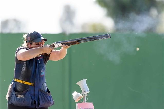 Six-time Olympic medallist Rhode wins skeet title at ISSF Shotgun World Cup Final