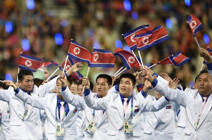 North Korea sent a team of 273 athletes and officials to last year's Asian Games in Incheon