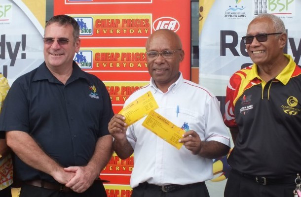 Port Moresby have announced the launch of additional ticket outlets for the Pacific Games ©Port Moresby 2015