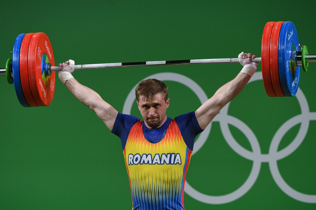 IWF set to strip Sîncrăian of Rio 2016 bronze medal after testing positive for testosterone