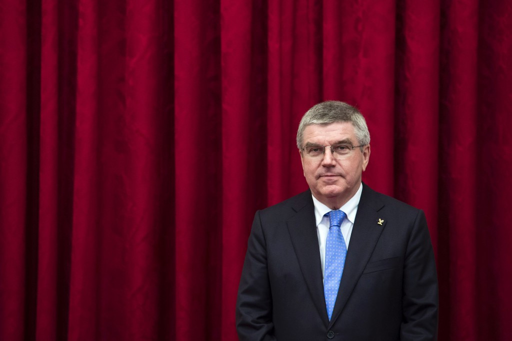 IOC President Thomas Bach is due to speak at the FIG Congress ©Getty Images
