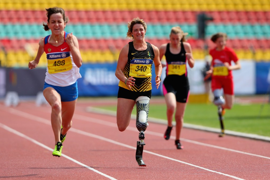 Caironi continues great season with another world record at IPC Athletics Grand Prix in Berlin