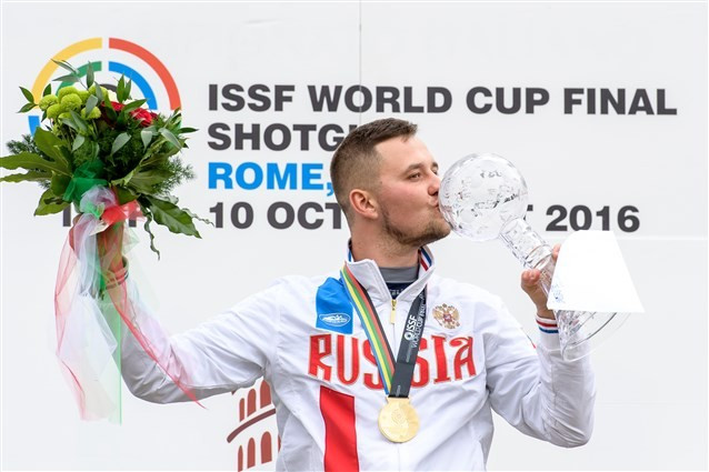 Teplyy shoots perfect score to claim maiden ISSF World Cup final title