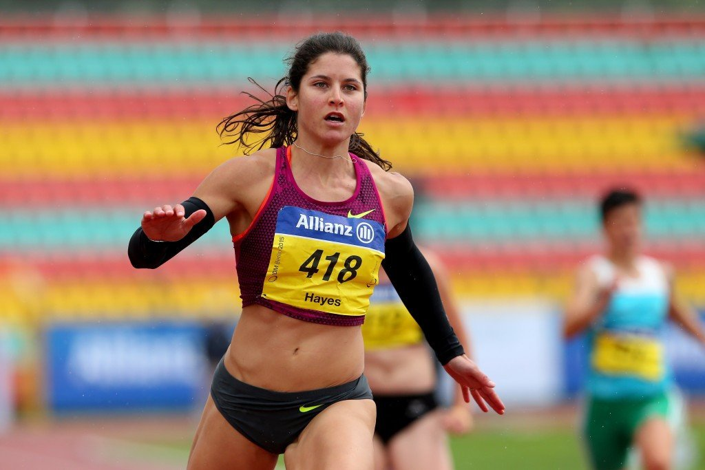 Ilse Hayes was a comfortable victor in Berlin