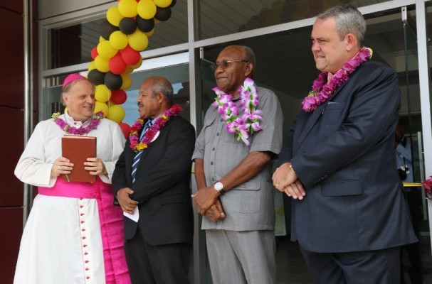Port Moresby 2015 officially open Caritas Hall venue as POM Racquets Club gets temporary rebranding