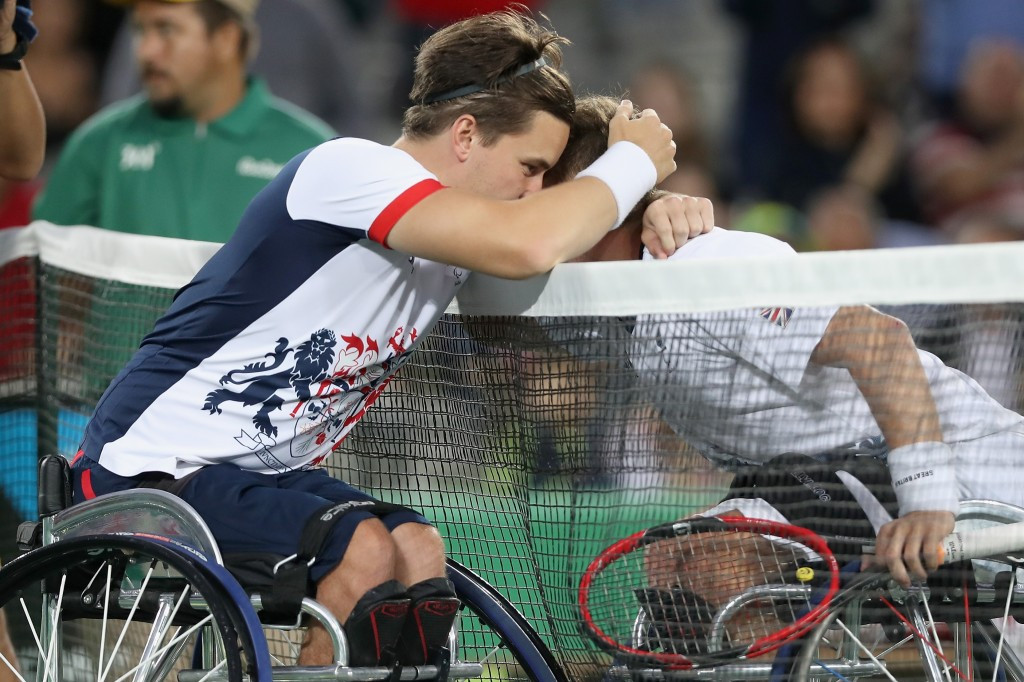 Gordon Reid is among the Paralympic champions entered for the Wheelchair Tennis Masters ©Getty Images