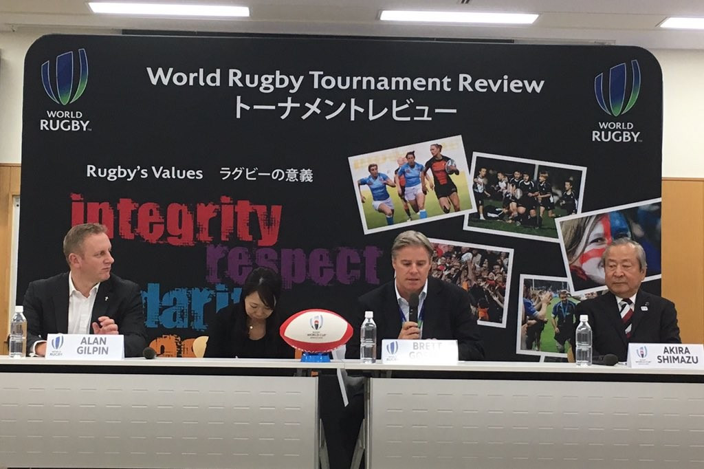 Gosper hails 2019 Rugby World Cup preparations but fears Olympics will overshadow event