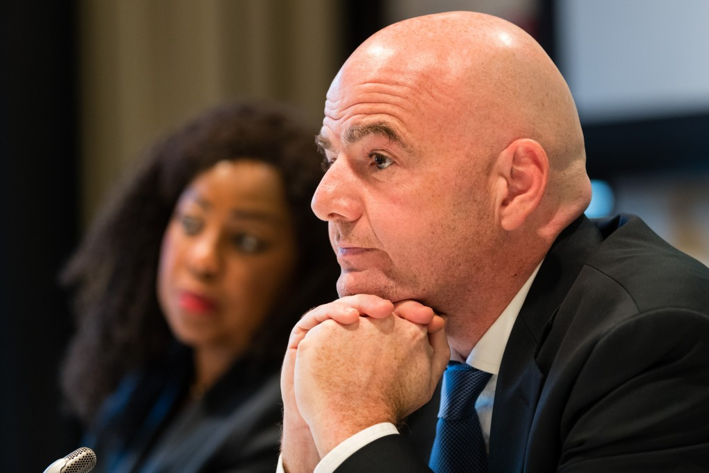 FIFA President Gianni Infantino's dream of an expanded World Cup could become a reality ©Getty Images