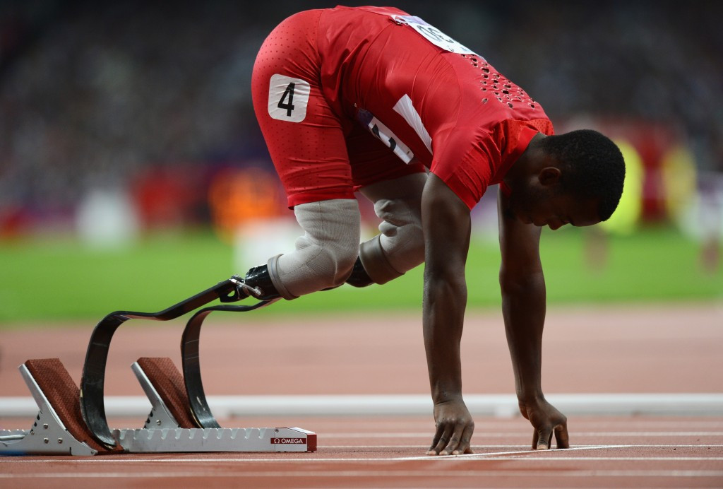 Blake Leeper was one of many winners on the closing morning of the US Paralympics Track and Field National Championships ©Getty Images