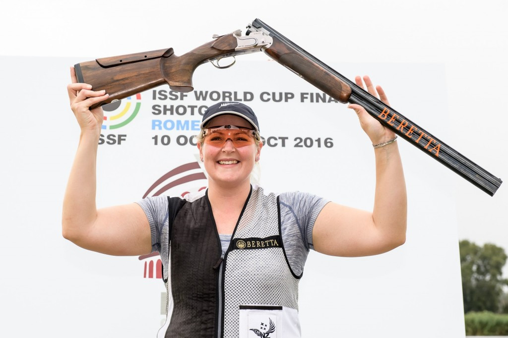 Rooney claims ISSF World Cup trap title with shoot off win over San Marino's Perilli