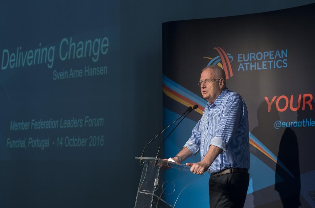 European Athletics President calls for unity between Member Federations on IAAF reform proposals