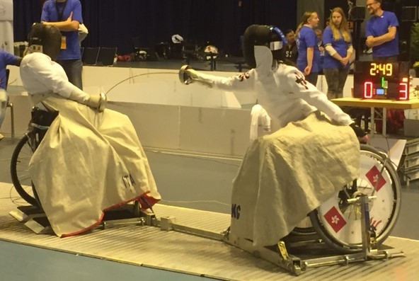 Evdokimova wins all-Russian affair to clinch épée gold medal at IWAS Under-17 and Under-23 Wheelchair Fencing World Championships