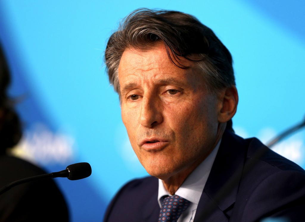 """IAAF President Sebastian Coe claims the proposals of the world governing body's governance structure reform process have been """"received well"""" by Member Federations present at organised roadshows this week ©Getty Images"""