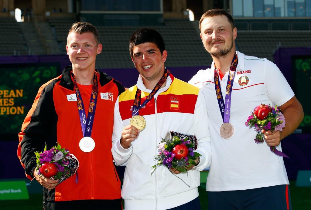 Spaniard Miguel Alvarino Garcia beat Sjef Van Den Berg in the gold medal match while Belarusian Anton Prilepov earned bronze