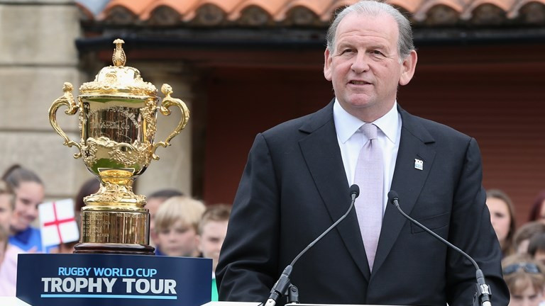 Cosslett named new chairman of England's RFU Board to replace World Rugby head Beaumont
