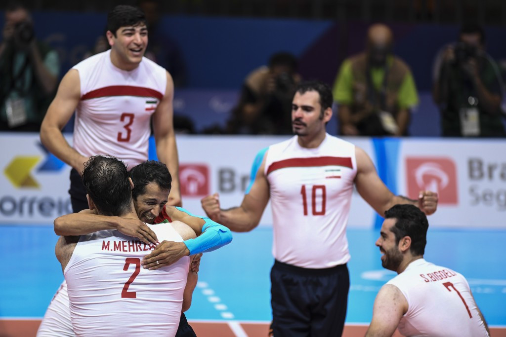 Iran's victory over defending Paralympic champions Bosnia and Herzegovina at Rio 2016 has seen them rise to the top of the men's standings ©Getty Images
