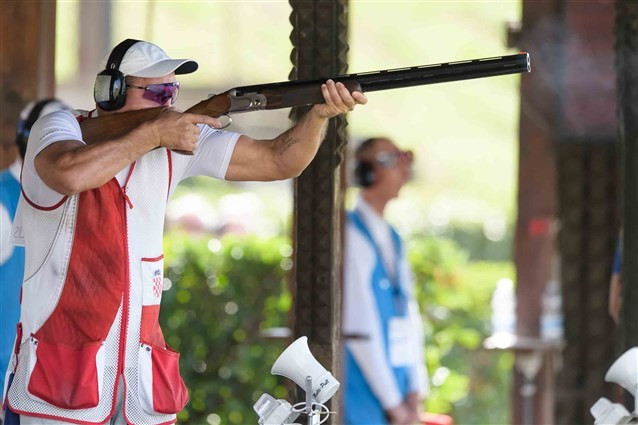 Croatia's Cernogoraz retains men's ISSF World Cup Final trap title on final day of action in Rome