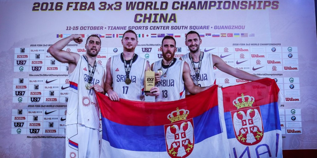 Serbia beat United States to claim men's FIBA 3x3 World Championships title
