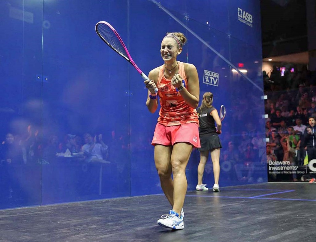Serme shocks world number one to become first French woman to win PSA US Open