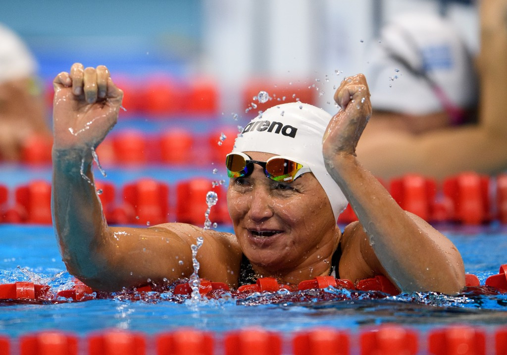 Zulfiya Gabidullina secured Kazakhstan's first Paralympic gold medal in Rio ©Getty Images