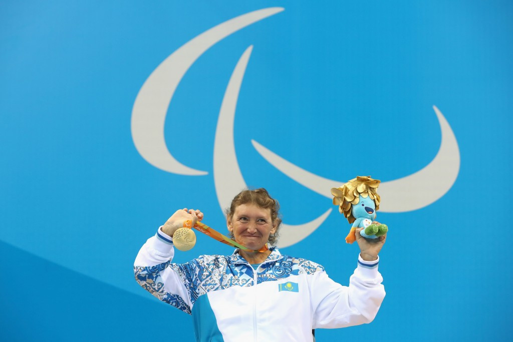 Kazakhstan were left celebrating two medals at the Paralympic Games ©Getty Images