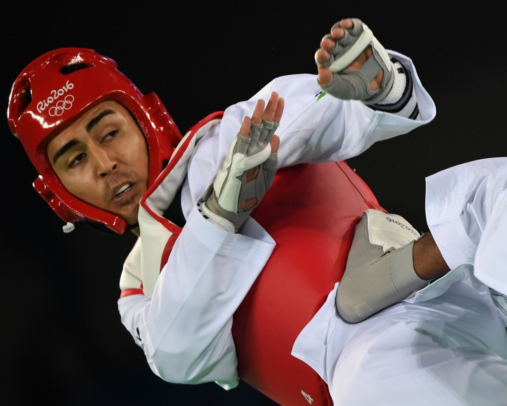 Hayder Shkara competed at the Rio 2016 Olympic Games ©Getty Images