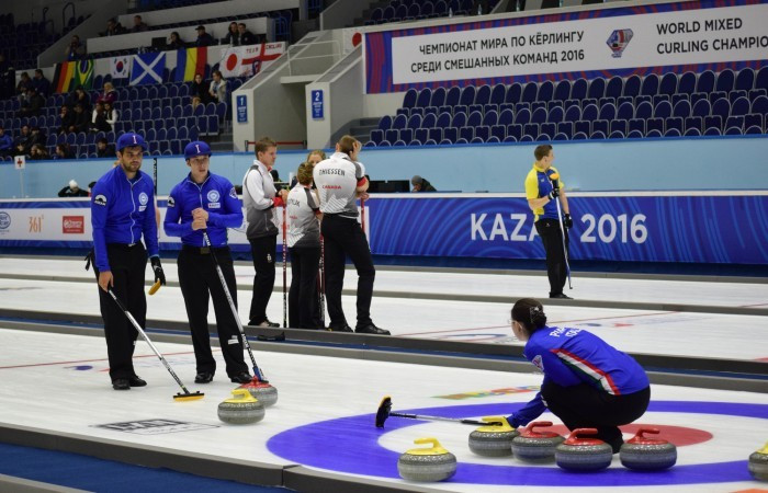 Canada record fourth straight win at World Mixed Curling Championships