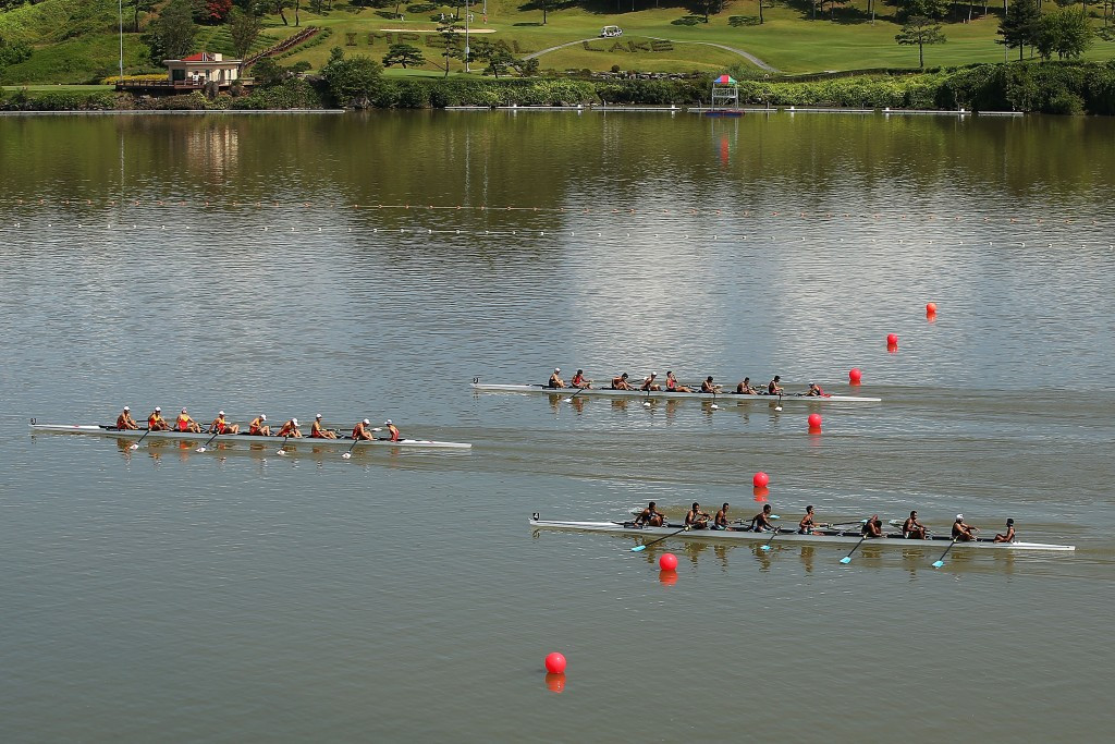 Reports had suggested the Chungju Tangeum Lake International Rowing Center, a venue for the 2014 Asian Games in Incheon, could host rowing and canoeing if an agreement was not reached ©Getty Images