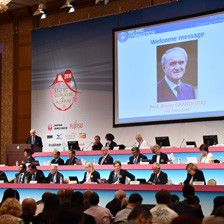 International Gymnastics Federation membership grows to 148 as Grandi opens Congress for final time