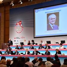 International Gymnastics Federation membership grows to 148 as Grandi opens Congress for final time