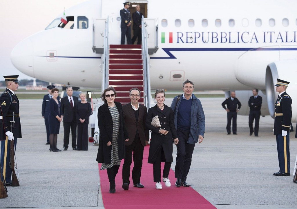 Beatrice Vio's achievements were hailed by Italian Prime Minister Matteo Renzi ahead of the visit ©Twitter/Ambasciata U.S.A.