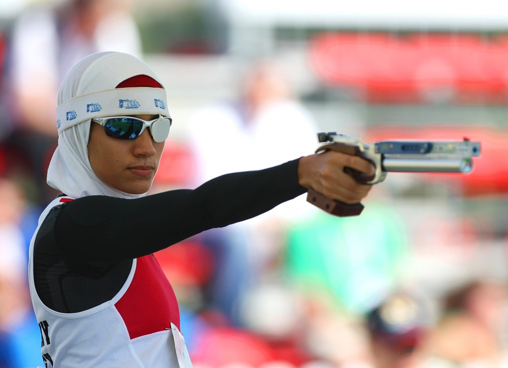 Egyptian modern pentathlete Aya Medany has also been added to the IOC Athletes' Commission ©Getty Images