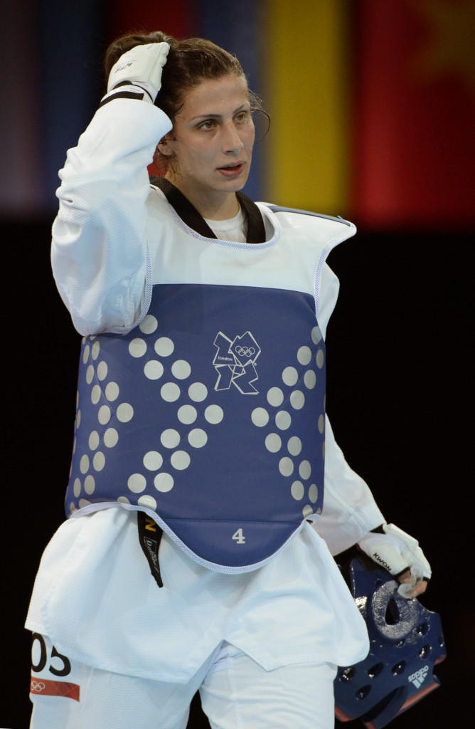 Taekwondo player Nadin Dawani has also been added to the IOC Athletes' Commission ©Getty Images