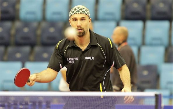 Pattantyus leads good start for Hungarian hosts at European Table Tennis Championships