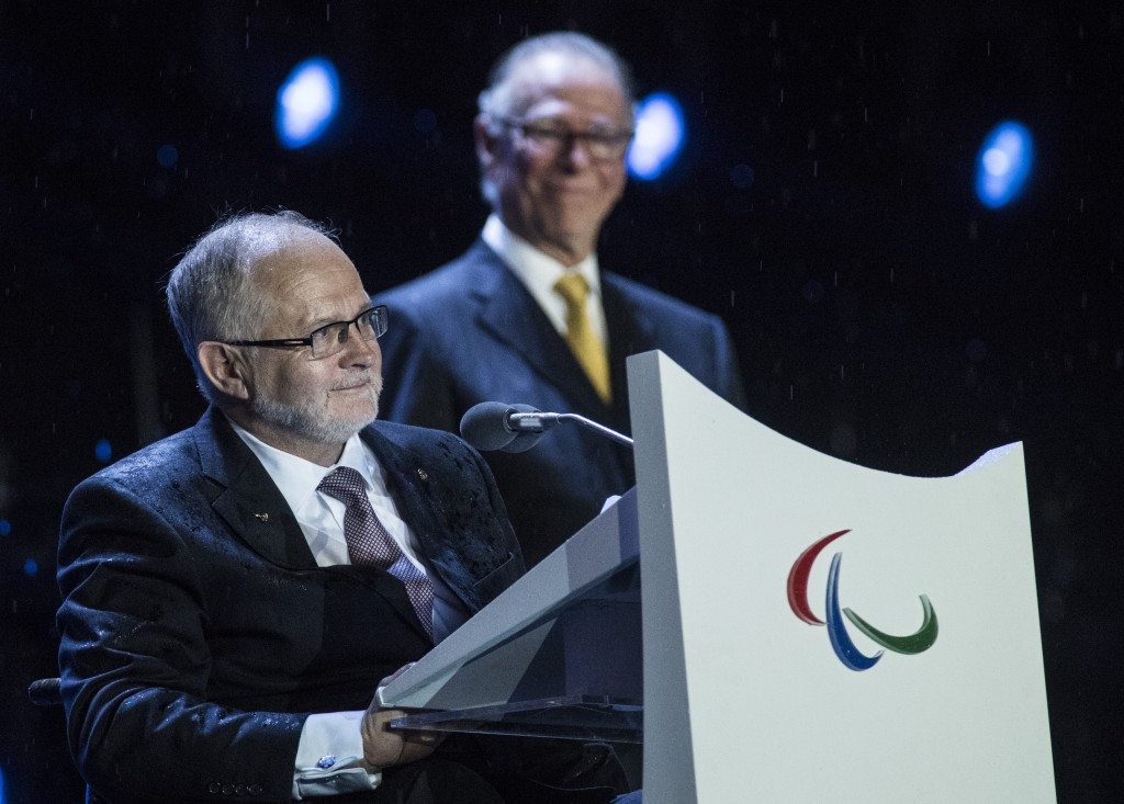 IPC President Sir Philip Craven has apologised to Thomas Bach ©Getty Images