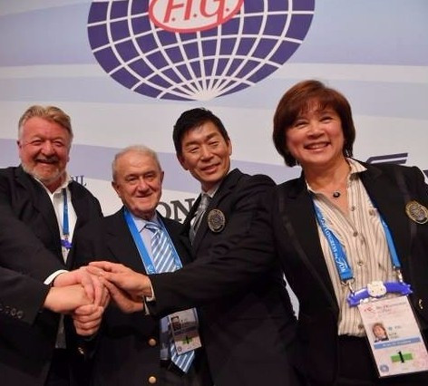 Outgoing FIG President backs successor Watanabe to become IOC member in 2018