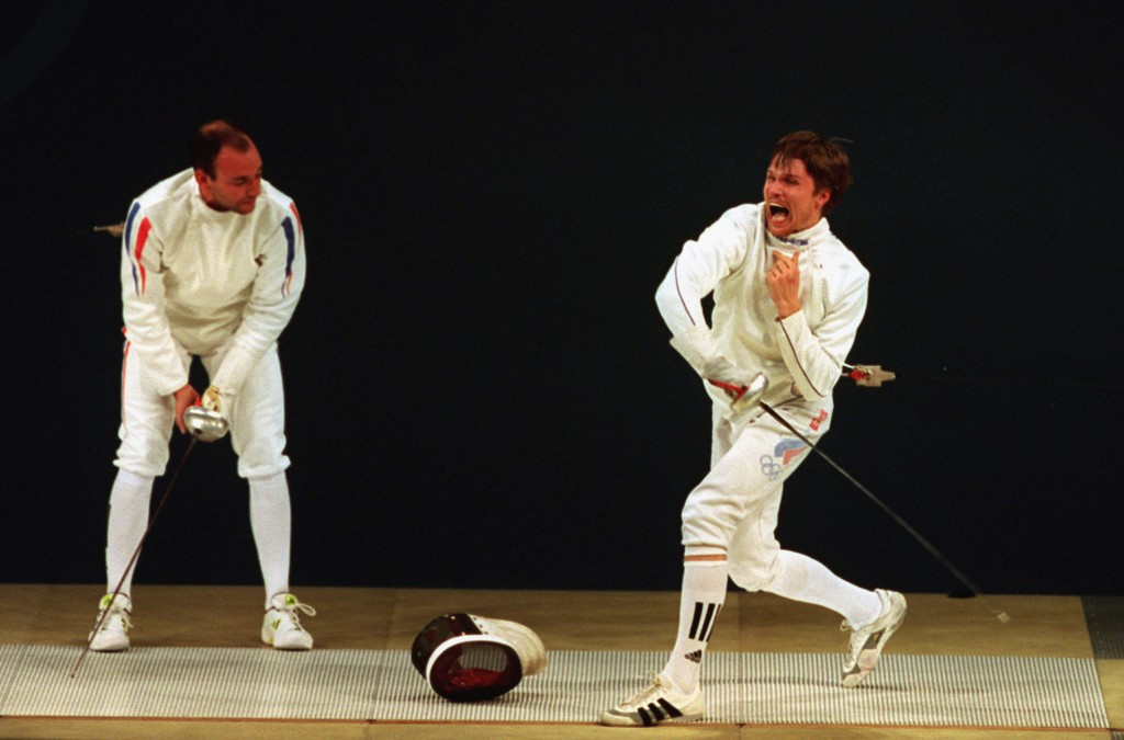 Pavel Kolobkov, winner of the Olympic gold medal in the individual épée at Sydney 2000, has been appointed Russia's new Minister of Sport ©Getty Images
