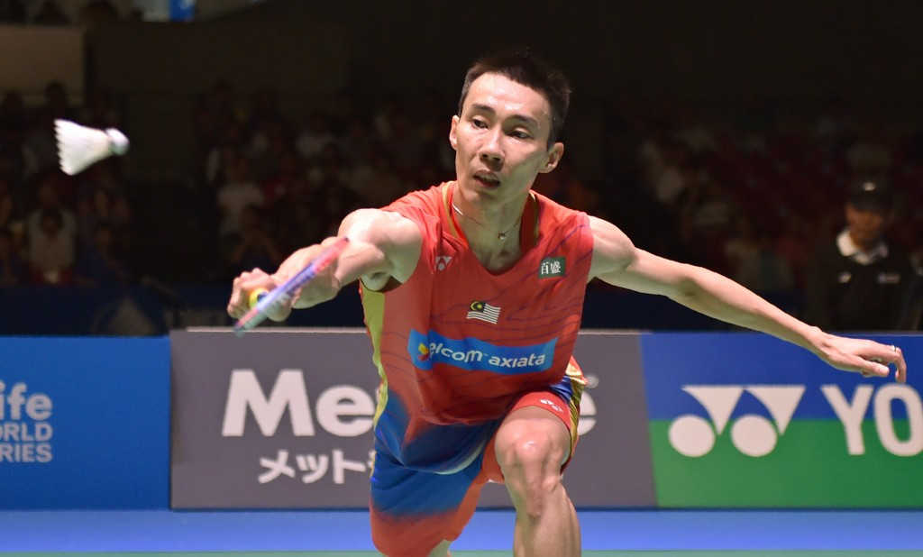 Men's singles top seed Lee Chong Wei edged through to round two ©Getty Images