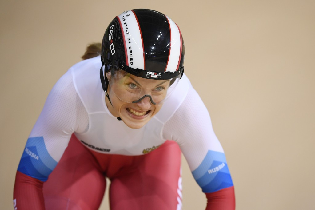 Shmeleva earns time trial gold as European Track Championships begin