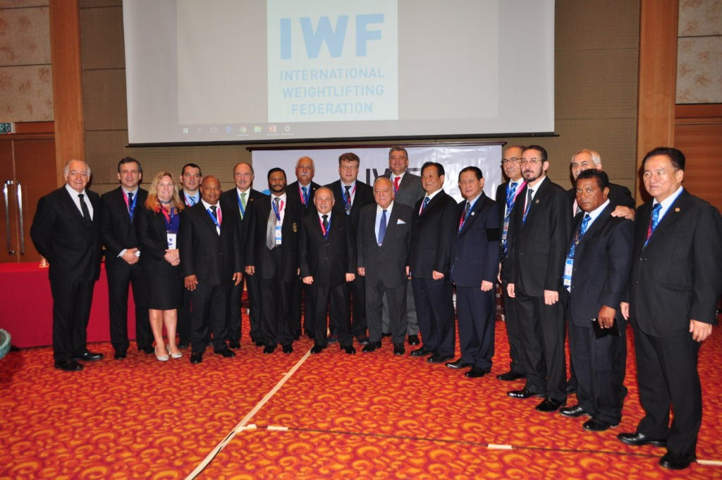 Pattaya was awarded the hosting rights to the 2019 World Weightlifting Championships during the IWF Executive Board and Congress ©IWF