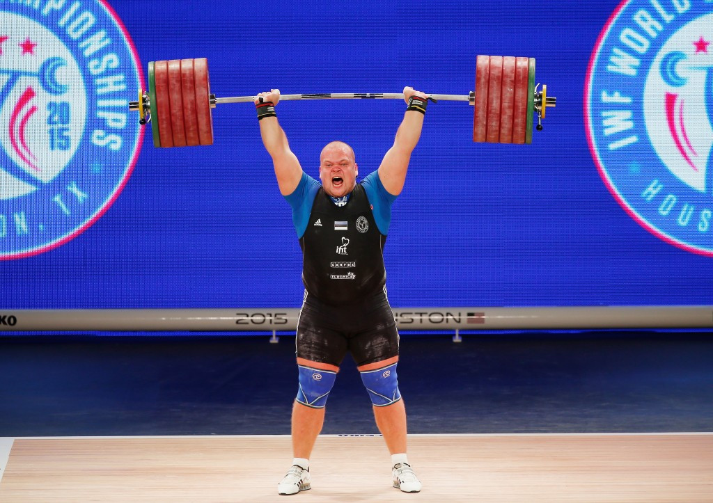 The most recent IWF World Championships were held in Houston last year ©Getty Images