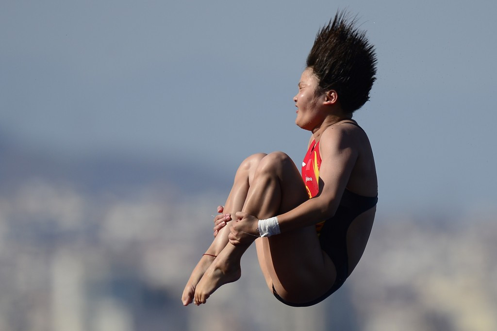 Chen Ruolin has announced her retirement from diving ©Getty Images