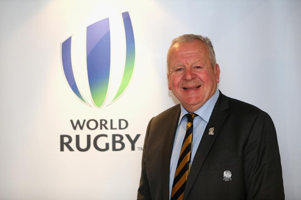 Sir Bill Beaumont will serve a second term as World Rugby chairman ©Getty Images