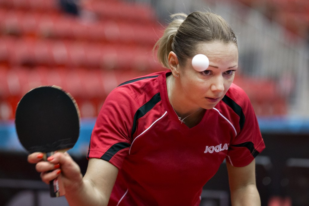 Former champion Paskauskiene eliminated from European Table Tennis Championships