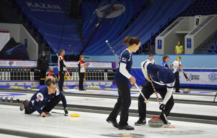 Group Stages of World Mixed Curling Championship conclude in Kazan