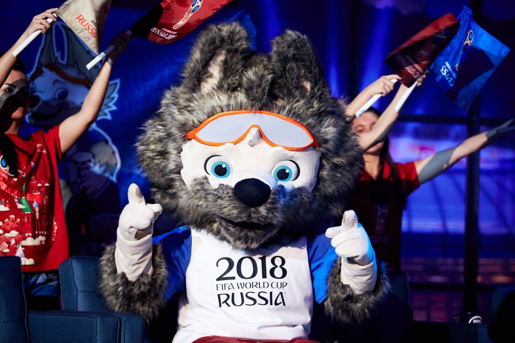 Wolf chosen as mascot for Russia 2018 World Cup after public vote