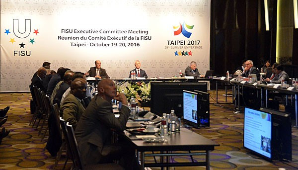 The FISU Executive Committee were in Taipei to hold two days of meetings ©FISU
